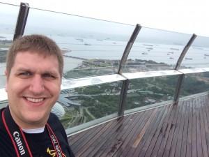 Me on observation deck