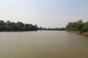 River outside Angkor Wat
