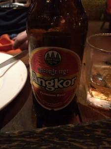 Angkor Beer (the good stuff)
