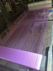 Silk weaving machine