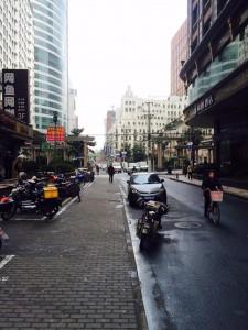 Typical Shanghai Sidewalk