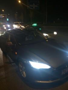 The Tesla I got from Uber