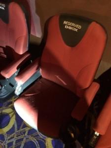 My D-Box Seat