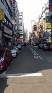 Random street in Suwon
