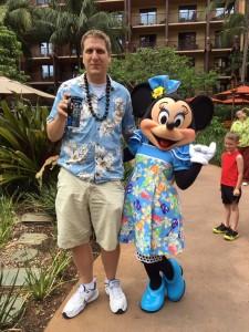 Me with Minnie