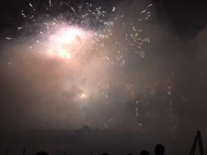 Fireworks in Nashville