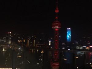 Went to the Ritz Carlton bar in Shanghai
