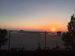 Sunset in Herzliya