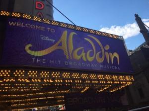 Aladdin on Broadway!